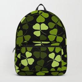 Shamrock Pattern Backpack