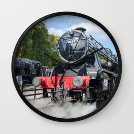 Steam locos at Rothley Wall Clock