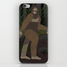 Bigfoot in the Forest iPhone Skin