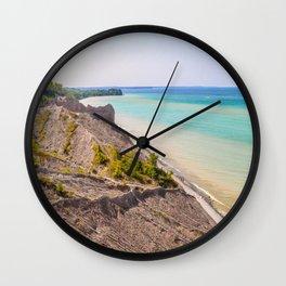 Along the Coast Wall Clock