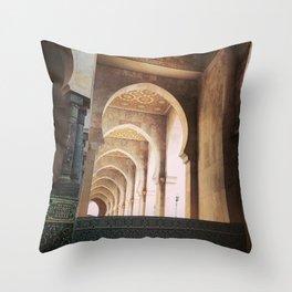Corridors Throw Pillow