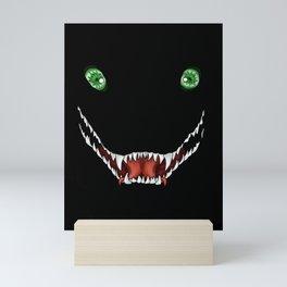Creepy dragon mouth Mini Art Print