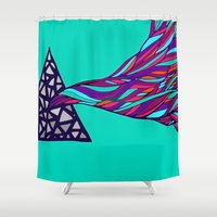 prism Shower Curtains featuring Prism by Kate Shea