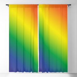 Gay Pride Blackout Curtain