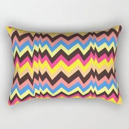 Colorful tension II Rectangular Pillow