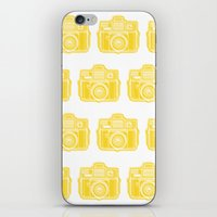 I Still Shoot Film Holga Logo - Sunshine Yellow iPhone & iPod Skin