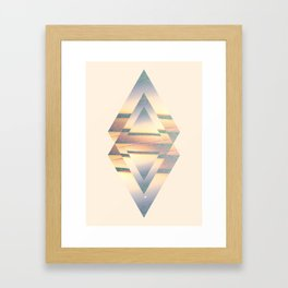 Gyll Symmetry Design Framed Art Print