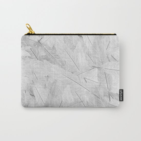 Feathered (Pattern). Carry-All Pouch