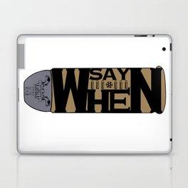 Say when flat design Laptop & iPad Skin