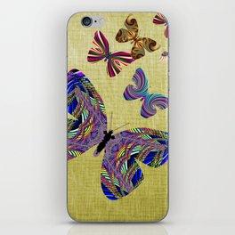 Flight Of The Butterflies iPhone Skin