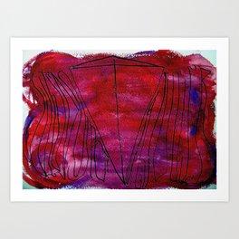 Wisdom and Anger Art Print