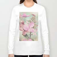 blush Long Sleeve T-shirts featuring Blush  by Laura Ruth