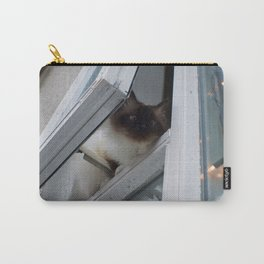Icelandic Siamese Cat Carry-All Pouch