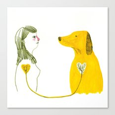 LOVE AND DOGS part 2 Canvas Print