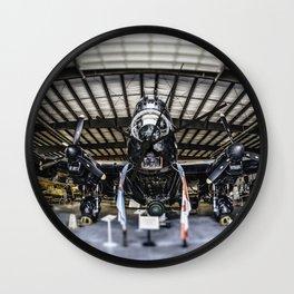 Bomber Wall Clock
