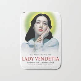 Lady Vendetta Bath Mat