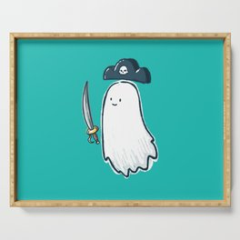 Pirate Ghost Serving Tray