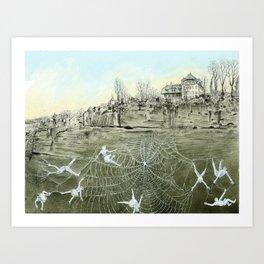 The web Art Print