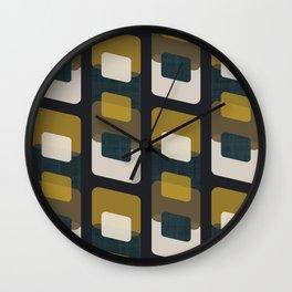 MCM Roller Wall Clock