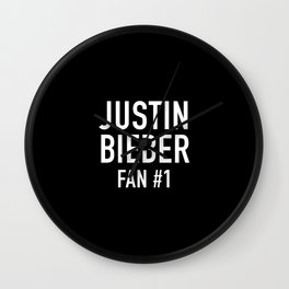 JustinBieber Fan Wall Clock
