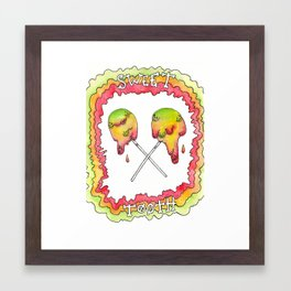 A dreamy collaboration: Sweet tooth Framed Art Print