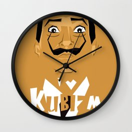I Love Kubizm Wall Clock