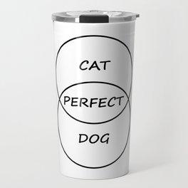 Cat and Dog Travel Mug
