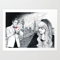bond Art Prints featuring Bond by Albert Wint