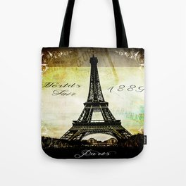 The Worlds Fair of 1889 Tote Bag