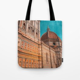 St Marie of Flowers Basilica Firenze Tote Bag