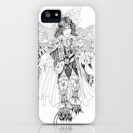 Eagle Hunter iPhone Case