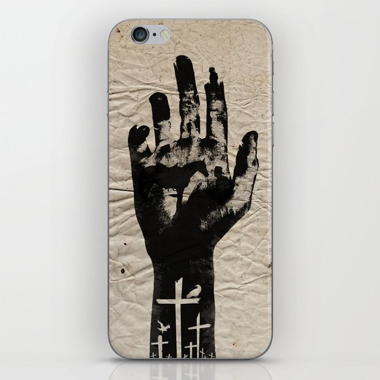 The Walking Dead iPhone & iPod Skin