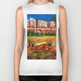 Courthouse Butte Rock, Sedona Arizona Biker Tank