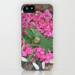 Goldsworthy Petals iPhone Case