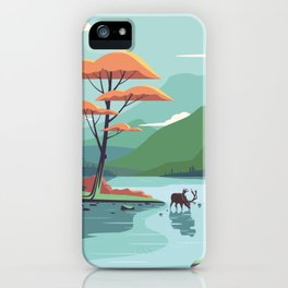 Fall is here iPhone Case