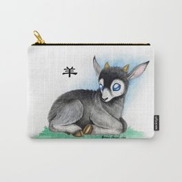 Chinese Zodiac Year of the Goat Carry-All Pouch