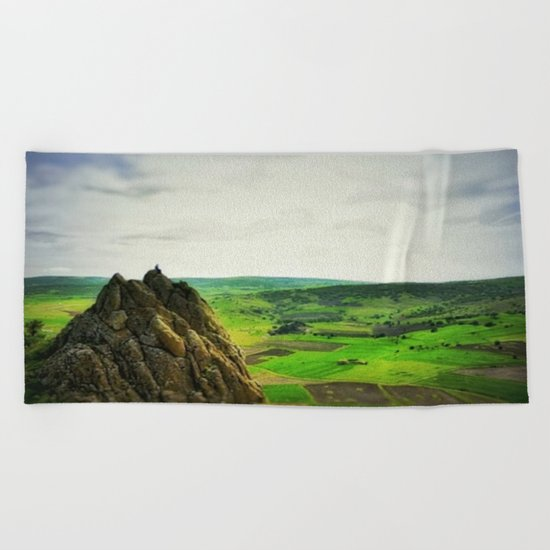 plateau Beach Towel