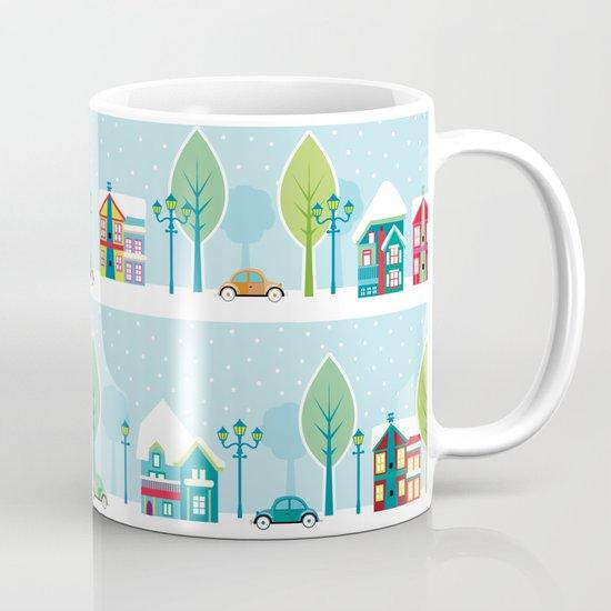 Ski house Mug
