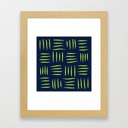 Blue Nature Framed Art Print
