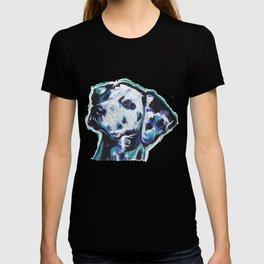 Dalmatian Fun Dog bright colorful Pop Art Painting by LEA T-shirt