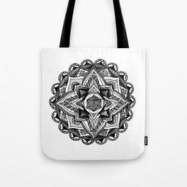 Mandala Circles Tote Bag