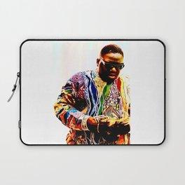 BiggieSmalls Poster Print Art B.I.G Hip Hop Laptop Sleeve