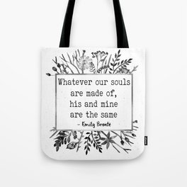 His and Mine Tote Bag