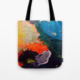 El Nino Abstract Tote Bag