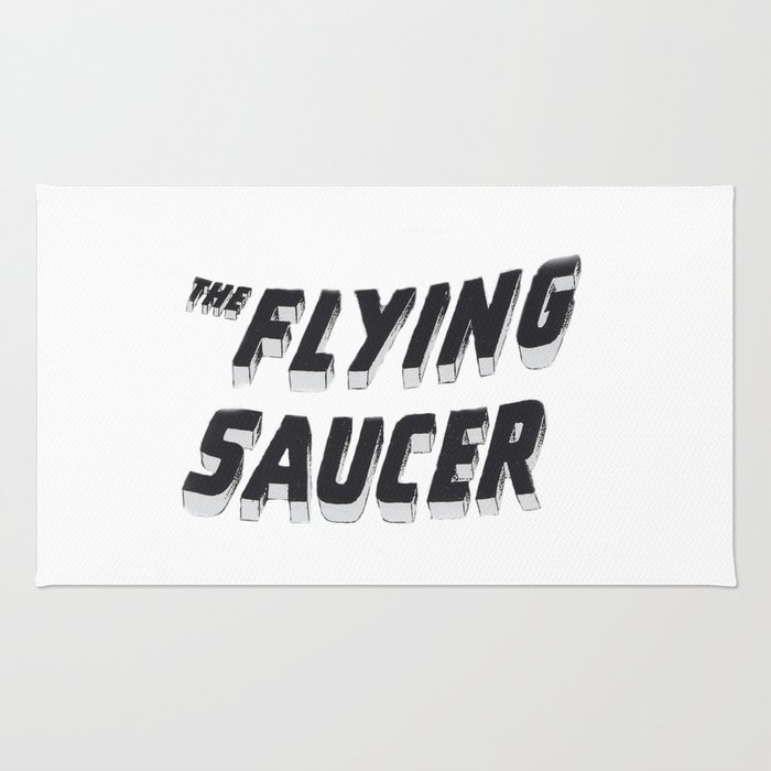 THE FLYING SAUCER Rug