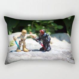 Action Figures Rectangular Pillow