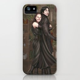Among all the flowers iPhone Case