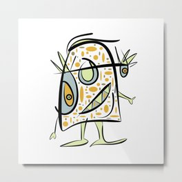 scribbleheads Metal Print
