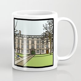 Cambridge struggles: Christ's College Coffee Mug