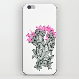 Black and Pink iPhone Skin
